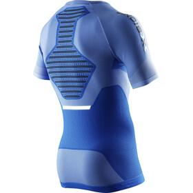 X-Bionic Speed Running EVO Koszulka do biegania z krótkim rękawem Mężczyźni niebieski